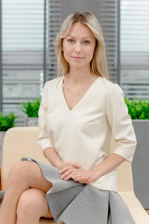 В Польше Огорек - известная телеведущая. Фото East News
